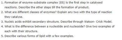 Class 11 Biology Chapter 9 - Biomolecules