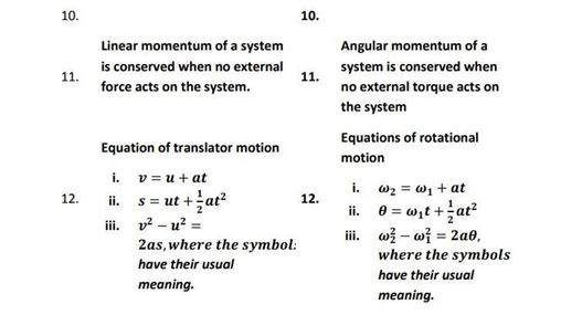 Class 11 Chapter 7 System of Particles and Rotational Motion