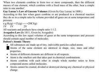 Class 11 Chemistry Chapter 1 - some basic concepts of Chemistry