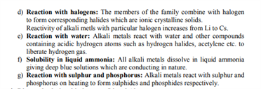 Class 11 Chemistry Chapter 10 - the s-block elements