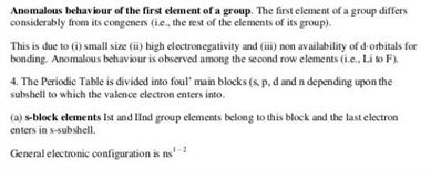 Class 11 Chemistry Chapter 3 - classification of elements and periodicity in properties