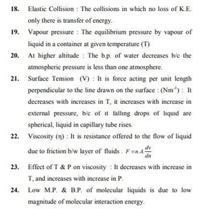 Class 11 Chemistry Chapter 5 - States of Matter