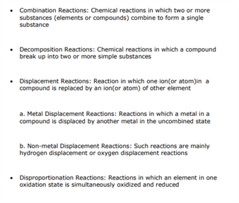 Class 11 Chemistry Chapter 8 - Redox