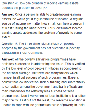 Class 11 Economics Chapter 4 : Poverty