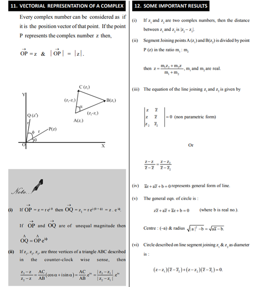 Class 11 Maths Chapter 5 Complex Numbers and Quadratic Equations