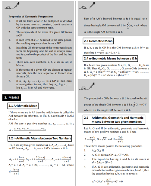 Class 11 Maths Chapter 9 Sequences and Series