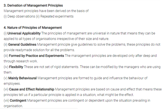 Class 12 Business Studies Chapter 2 - Principles Of Management