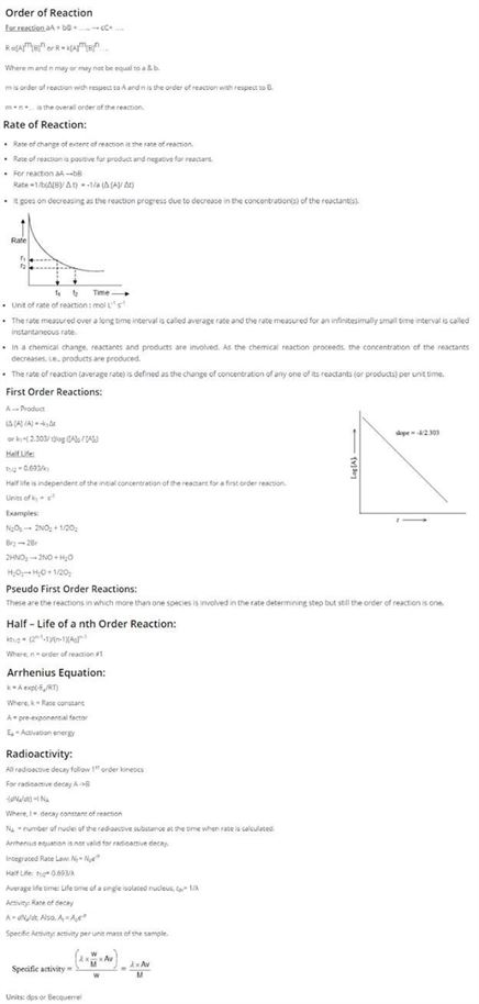 Class 12 Chemistry Chapter 4 Chemical Kinetics