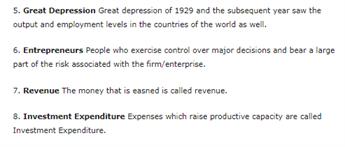Class 12 Economics Chapter 1 - Introduction - Macroeconomics