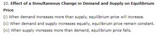 Class 12 Economics Chapter 5 - Market Equilibrium