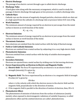 Class 12 Physics Chapter 11 dual nature of radiation and matter