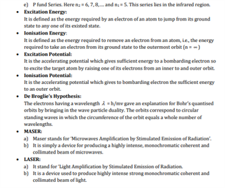 Class 12 Physics Chapter 12 Atoms