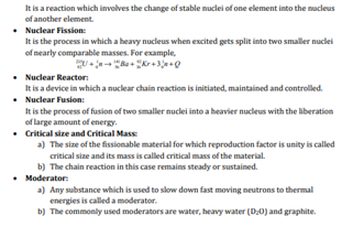 Class 12 Physics Chapter 13 Nuclei