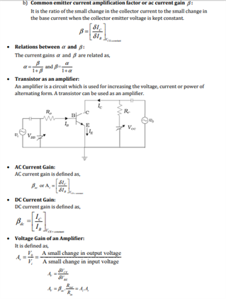 Class 12 Physics Chapter 14 Semiconductor Electronics