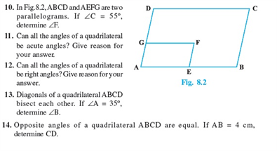 Class 9 Math Chapter 8 - Quadrilaterals