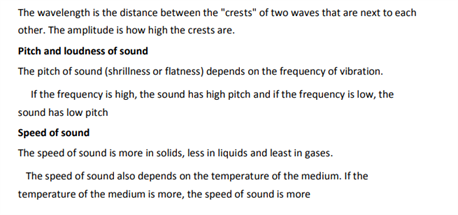 Class 9 Science Chapter 12 sound