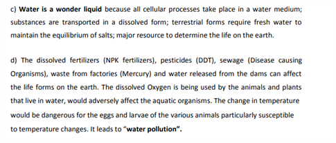 Class 9 Science Chapter 14 natural resources