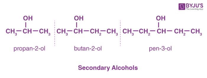 Secondary Alcohols