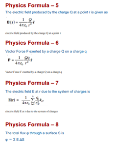 Class 12 Physics Chapter 1 electric charges and field