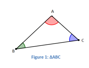 Angle sum properties of a triangle interior and exterior - Sum of all exterior angles of a triangle ...