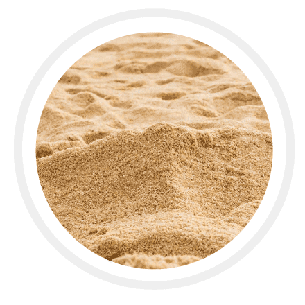 Sandy Soil - It has the largest particle among the three