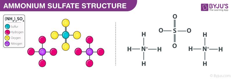 Ammonium Sulfate Structure