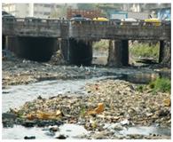 Plastic - Garbage Dumped in Oshiwara River