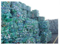 Plastic - Discarded Plastic being sent for Recycle