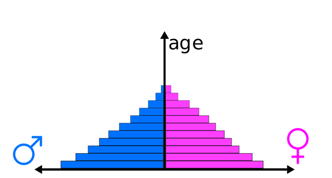 Age pyramid Organisms and Population