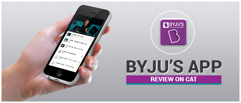 Byju's App Review on CAT