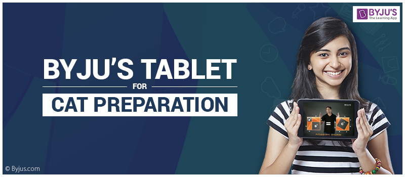 Byju's Tablet for CAT Preparation