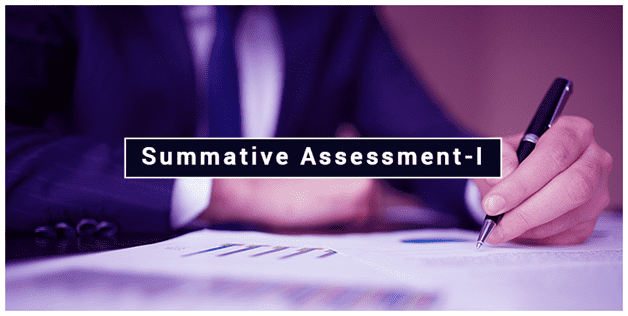 Summative Assessment