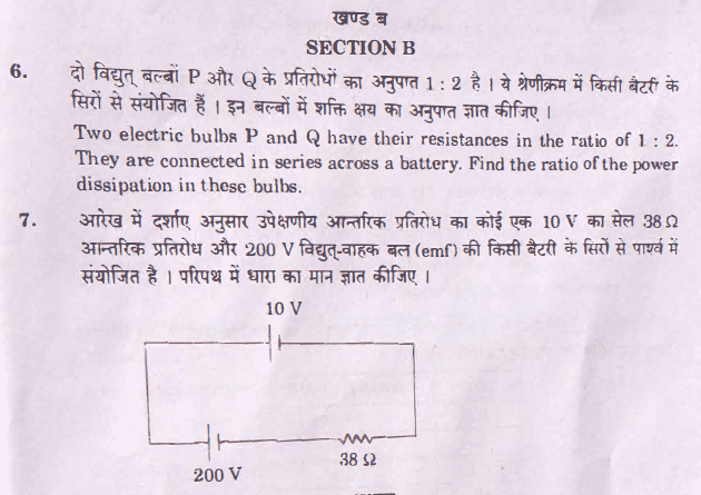 Question Paper Analysis Physics 8