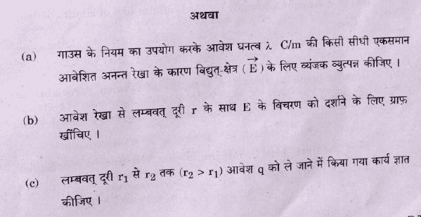 Question Paper Analysis Physics 29