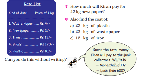 CBSE Class 4 Maths Solutions