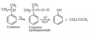 Phenols from Cumene
