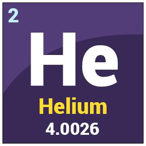 Helium symbol
