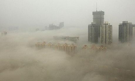 atmospheric pollution - smog