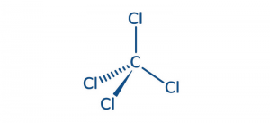 Carbon Tetrachloride Structure