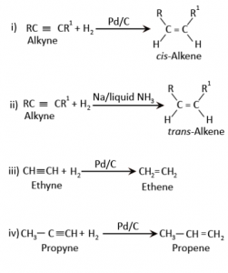 Preparation Of Alkenes