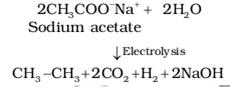Kolbe electrolysis
