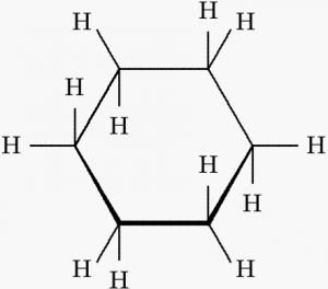 Structure of Cyclohexane