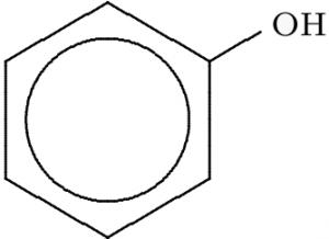 Alcohol structure - Phenol