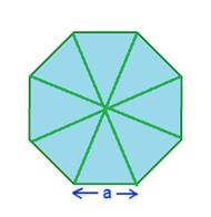 Octagon Area Formula