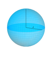 Volume of a sphere Formula