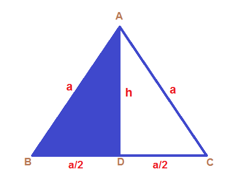 Area of an Equilatereal triangle