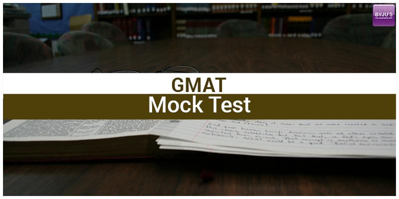 GMAT Mock Test