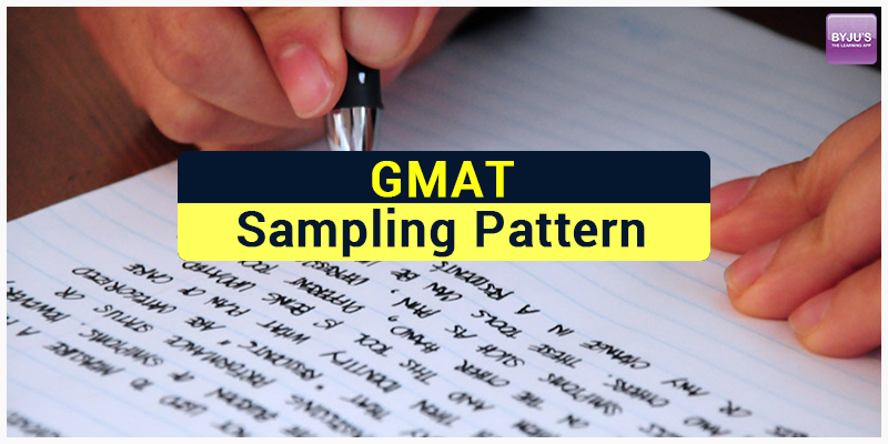 GMAT Sampling Pattern