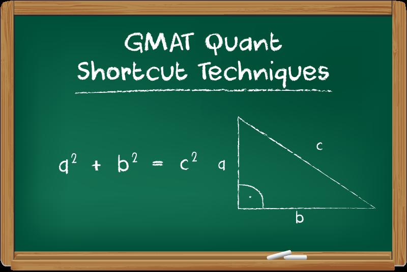 GMAT Quant Shortcut Techniques