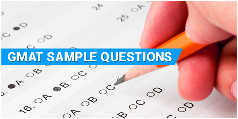 GMAT Sample Question Paper